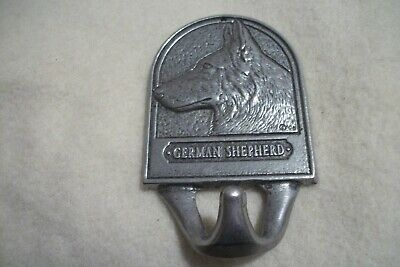 German Shepherd Dog Pet Leash Holder Coat Hook metal