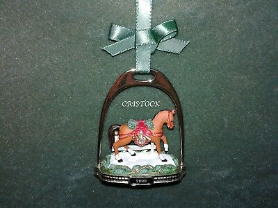 Breyer 2000 Christmas Stirrup Ornament With Box - 2Nd In Series