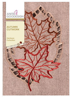 Anita Goodesign Machine Embroidery / Quilting Patterns - Autumn Cutwork