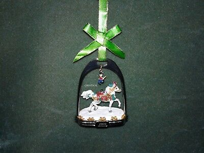 Breyer 2009 Christmas Stirrup Ornament With Box -  Nib