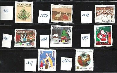 Canada HIGHER VALUE CHRISTMAS STAMPS (SEE PICTURE) VF MINT NH (BS14878)