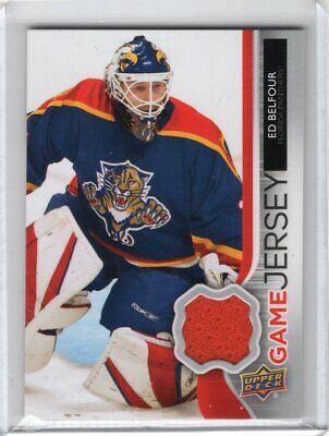 2014-15 Upper Deck Series 1 Ed Belfour Game Jersey #Gj-Eb Panthers