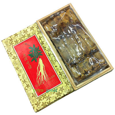All Natural 6 Years Old Top Level Precious Korean Red Ginseng Roots 600g