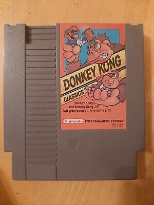 Donkey Kong Classics (1988) NES - Game only