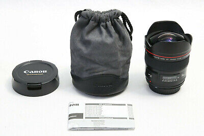 Canon EF 14mm f/2.8 L II USM Lens EXCELLENT EOS DIGITAL SUPER WIDE ANGLE Camera
