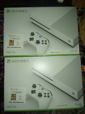 Microsoft Xbox One S 1TB Two Controller Console Madden 20 Bundle &Free Game Pass