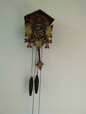 Cuckoo Clock. Kaiser In Good Condtion Working But Needs Adjustment