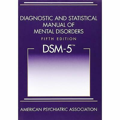 Diagnostic and Statistical Manual of Mental Disorders 5th Ed DSM 5 Paperback