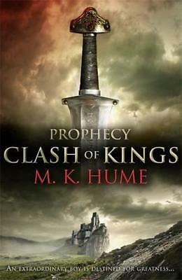Prophecy: Clash Of Kings, The Legend Merlin Begins por M. K. Hume, New Libro, F