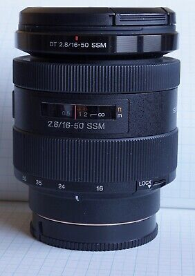 Sony 16-50mm f/2.8 SSM Lens - excellent condition SAL1650
