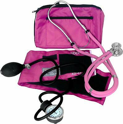 Dixie Ems Blood Pressure And Sprague Stethoscope Kit, Pink