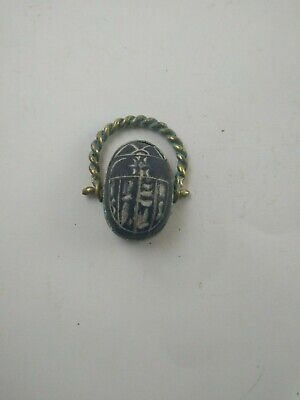 RARE ANCIENT EGYPTIAN ANTIQUE RING Scarab 1785-1569 BC