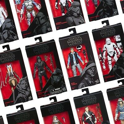 "MISB Star Wars The Black Series 6"" inch (15 cm) Action Figures by Hasbro"