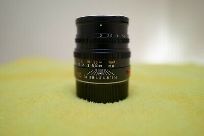 Leica Summicron-M 50mm f/2.0 version 5, 6-bit coded (Excellent +)!