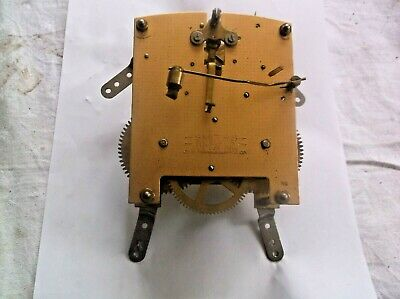 MECHANISM  FROM AN OLD SMITHS MANTLE CLOCK working order ref HUM 21