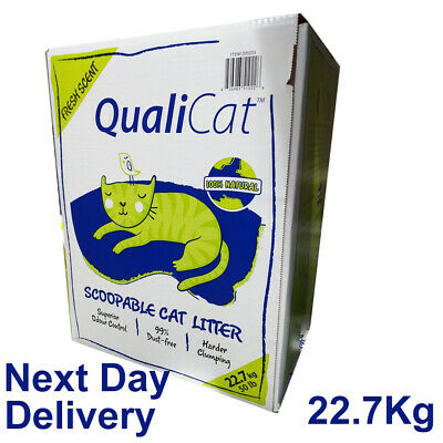 Qualicat Scoopable Cat Litter 22.7 kg Fast Free Delivery
