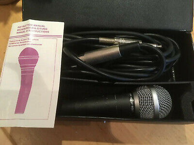 Unidirectional microphone - Maplin YU-37 With Case And Instructions