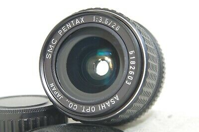 SMC Pentax 28mm F/3.5 MF Wide Angle Prime Lens SN5182603 for K Mount from Japan