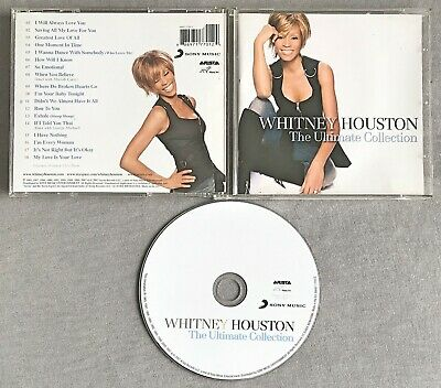 WHITNEY HOUSTON - THE ULTIMATE COLLECTION * * 2007 CD Album