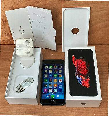 Apple iPhone 6s Plus Space Grey 64GB Immaculate Unlocked iOS13.3.1 Model:A1687