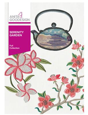 Anita Goodesign Machine Embroidery Pattern - Serenity Garden