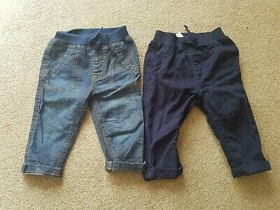 George - Boys Jeans & Chinos Trousers Bundle 3-6 Months