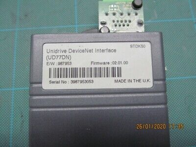 Control Techniques UD77DN Devicenet Modul