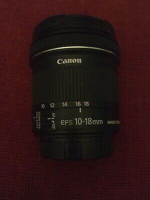 Canon EF-S 10-18 Mm F/4.5-5.6 Is STM Lens for Canon - Black