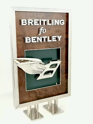 BREITLING FOR BENTLEY  FLYING B : Présentoir PLV montre RARE -  petit modèle