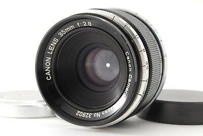 Canon L 35mm f/2.8 Lens for Leica Screw Mount LTM L39 from Japan 【Exc+++++】