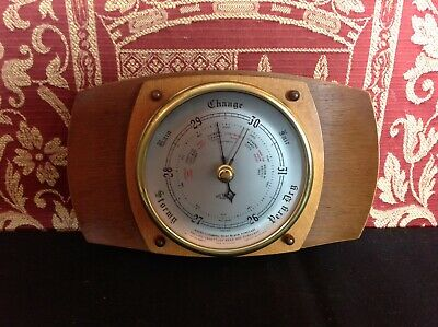 Vintage Metamec Dereham Barometer Art Deco collectable