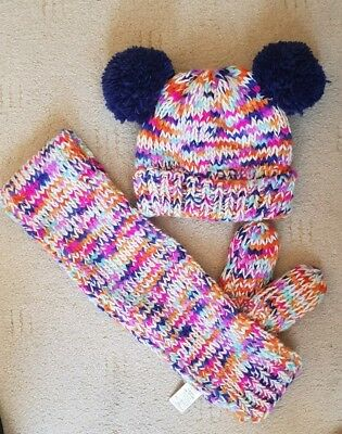 Next Hat, Scarf And Gloves Set - size 1-2 years