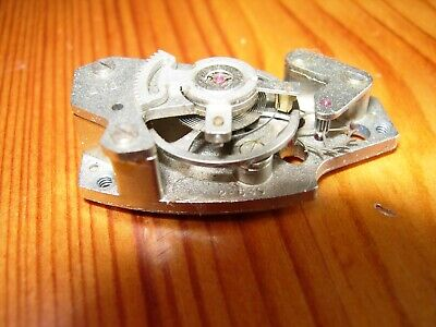 Rare carriage clock jewelled platform escapement,  working but needs a clean