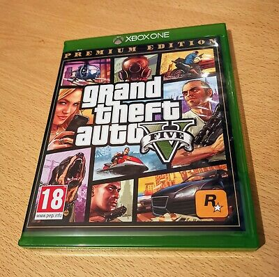 Grand Theft Auto GTA 5 Xbox one x s