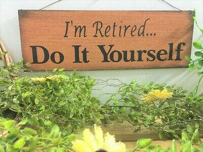 I/'m Retired Do It Yourself Aging Funny Humor Retiree Retirement T-Shirt