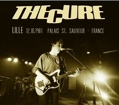 THE CURE LIVE Lille 12.10.1981  Palais St. Sauveur (France)