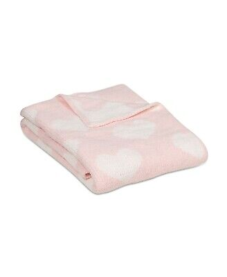 Living Textiles Baby Blanket Toddler Lolli Soft Throw Chenille PINK A02165