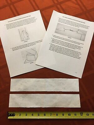 Antique Clock Parts- Cuckoo Clock Paper Bellow Recovery With Instructions.