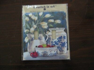 A Switch in Art Double Switch Plate Cover - NIP
