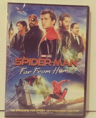 Spider-Man: Far From Home (DVD, 2019 New&Sealed) Free Next Day Shipping