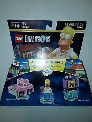 LEGO Homer Simpson Minifigure & accessories TV Dimensions 71202 New Sealed Box