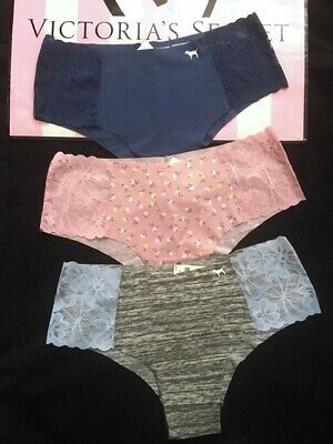 NEW Pink By Victorias Secret Low Rise Seamless No Show Thong Panty NWT