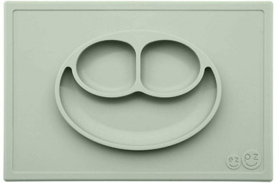 ezpz – Plate Happy Mat Silicone Sage Olive Green