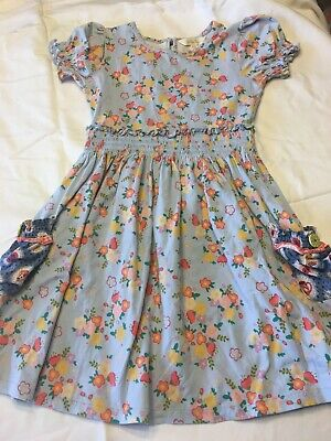 Matilda Jane Chalboard Doodles Lap Dress Size 6 play