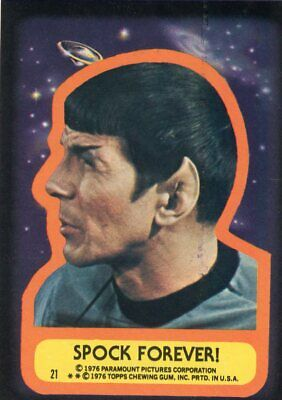 1976 Topps Star Trek Earthman/'s Triumph #57 Card Paramout Pictures Corp.