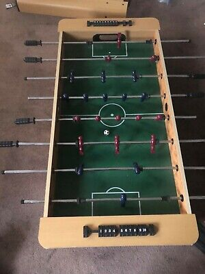Perfect for Kids: Wooden Foosball Table on Legs