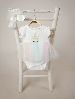 Girls Caramelo Kids designer unicorn romper new with tags