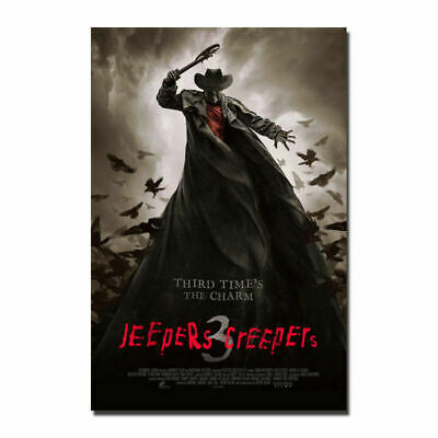 Jeepers Creepers 3 Hot Movie 2 19I 12x18' Art Silk Cloth Poster