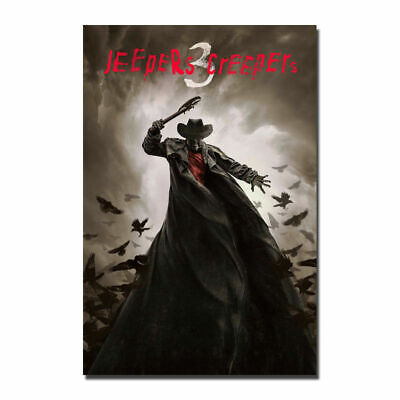 Jeepers Creepers 3 Hot Movie 19I 12x18' Art Silk Cloth Poster