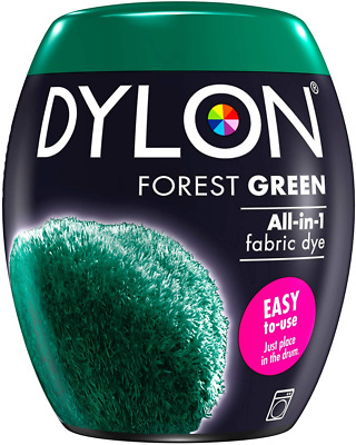 DYLON Washing Machine Fabric Dye Pod for Clothes & Soft Furnishings, 350g – Fore